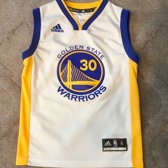 official photos f43b2 c5112 Adidas Stephen Curry NBA Jersey. Youth small